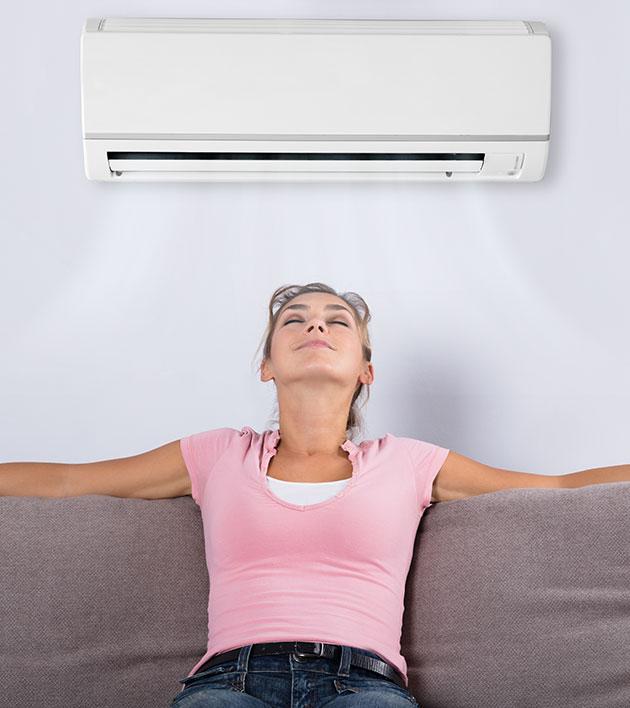 Komfortkyla med Luft-luft värmepump